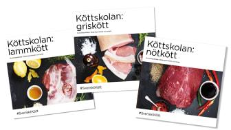 Köttskolan – nya tillagningsbroschyrer från Svenskt Kött