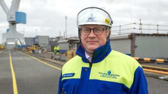 """""""Toimialana tämä on äärimmäisen koukuttava. Työllä on selkeä alku ja loppu"""", RMC:n toimitusjohtaja Jyrki Heinimaa kuvailee. Kuva: Pekka Leino"""