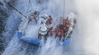 Hi-res image - Inmarsat - Inmarsat's FleetBroadband powered the digital content delivery from the race yachts throughout the 2017-18 Volvo Ocean Race