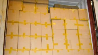 Op Indelible container load of smuggled cigarettes