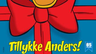 Anders And fylder 85 år: Tillykke til en and i topform