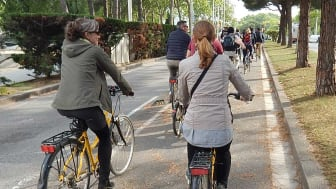 En dataanalys i forskningsprojektet PASTA visar att personer som använder bil som sitt huvudsakliga färdmedel väger i genomsnitt 4 kg mer än de som använder cykel som sitt huvudsakliga färdmedel.