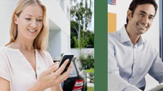 Mobiililaitteella voi ohjata kodin tärkeitä toimintoja