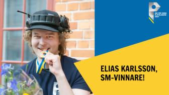 SM-guld i plåtslageri till Elias Karlsson