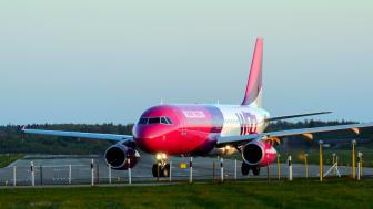 Det ungerska flygbolaget Wizz Air fortsätter att expandera från Malmö Airport.
