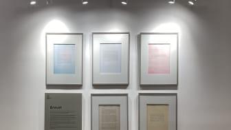 Föräldrar och ledare skriver brev till sina yngre jag. Ett urval av breven finns som utställning på Bromma Blocks.