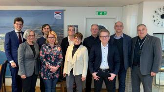 Deltagare i slutkonferensen från bl a EU, Trelleborgs Hamn AB och Port of Szczecin Swinoujscie