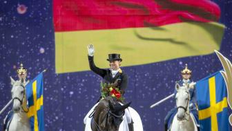 Världsettan Isabell Werth kommer till Sweden International Horse Show även i år. Foto: Roland Thunholm