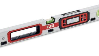 När du vill ha raka svar! FLEX nya digitala vattenpass är här!