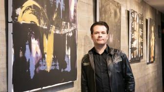 Kunstneren André Nygård åpner sin tredje separatutstilling på Quality Hotel 33