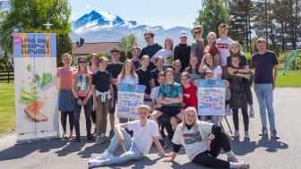 60 000 ungdom fra hele landet har deltatt i konkurransene som har bidratt til økt inntak av fisk.