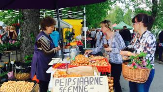 Marknad i Türi, Estland