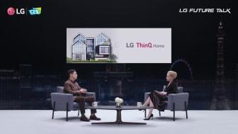 LG Future Talk under CES 2021