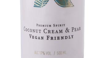 Xanté Coconut Cream & Pear, flaskbild