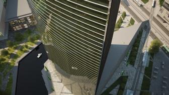 Plantagon Greenhouse Building, illustration 2