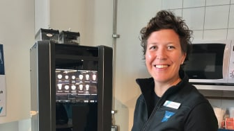 Jessica Bergström, butikschef i Bromma.