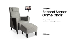 Samsung lanserar Samsung Second Screen Game Chair