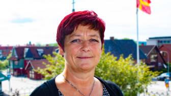 Carina Centrén, Regionchef Svenskt Näringsliv Skåne, var på plats i Osby för att presentera det dagsfärska resultatet av Svenskt Näringslivs undersökning av företagsklimatet.