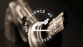 The Non-Violence Project Foundation celebrates the 40th anniversary of the Knotted Gun