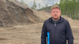 Mikael Johansson, vd Arctic Infra AB