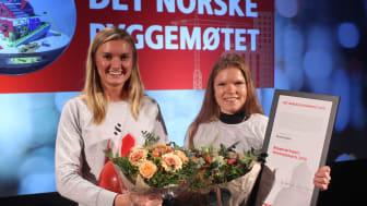 Foto: Endre Simonsen. Fra venstre, Helen Margrethe Bøhler og Anniken S. Hofsgaard fra Spacemaker.
