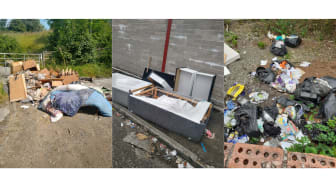 First £400 on-the-spot fines issued to fly-tippers