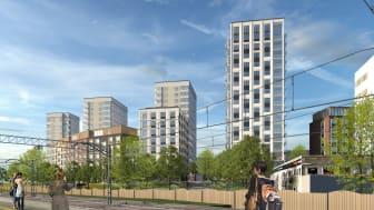 Grönt ljus för nya lägenheter i Bagartorp centrum