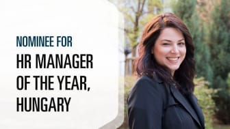 Adrienn Zemancsik - nominee for HR Manager of the Year, Hungary