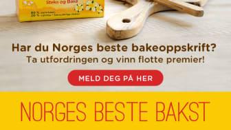 Har du Norges beste bakeoppskrift?