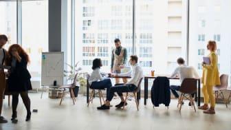 Förhöjda radonhalter kan finnas på alla typer av arbetsplatser