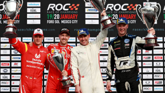 ROC Mexico 2019 Nations Cup. Team Germany; Mick Schumacher - Sebastian Vettel & Team Nordics; Tom Kristensen - Johan Kristoffersson