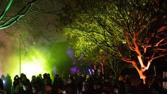 Ved Lysfest 2020 var mere end 10.000 mennesker samlet for at nyde lyset. Siden kom coronaen. Derfor lægger næste års lysfest i stedet op til, at man oplever lysfesten over flere dage. Foto: INSP Media!