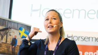 EuroHorse storsatsar på föreläsningar med Johanna Lassnack