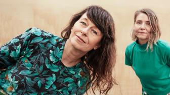 Anna Charlotta Gunnarson och Agneta Karlsson. Foto: Mattias Bardå/UR.