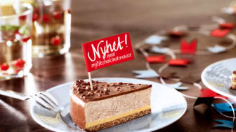 Almondys mest älskade tårta får en utmanare - Daimtårta med mjölkchokladmousse