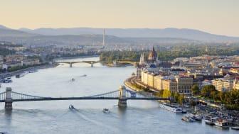 Vy över Budapest. Bild: Getty Images