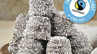 Satsa på rättvisemärkta chokladbollar 8 maj
