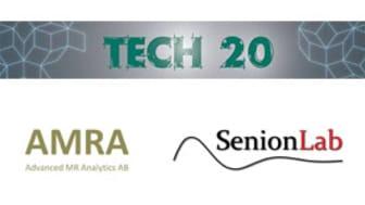 AMRA och SenionLab placerade på TECH20 – potentiella exportsuccéer