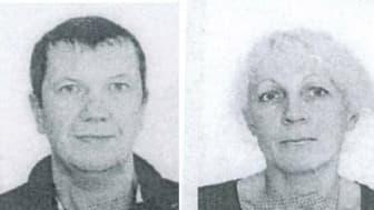 Tobaccoo smugglers: Husband and wife Igoris Terskis and Tatjana Terskaja