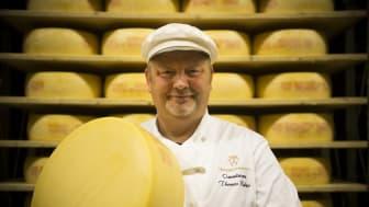 Master Cheesemaker Thomas Rudin, Photo: Erik Hillbom