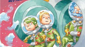 Christer Fuglesang ger ut barnbok om rymden