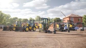Volvos program av eldrivna kompaktmaskiner (arbetsplats)