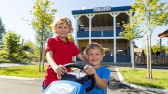 Polizeistation mit GoKart-Parcours im PLAYMOBIL-FunPark