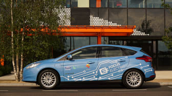 Ford öppnar ett Smart Mobility-kontor i London.