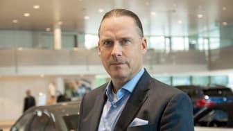 Vårt mål är att spela en aktiv roll för att forma framtidens mobilitet där e-mobilitet växer och traditionellt ägande av bilar utmanas, säger Marcus Larsson, VD Hedin Automotive.