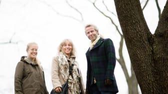 Peter Ullstad och Johanna Nenander, Codesign, och Christel Magnusson, Sundbyberg stad.