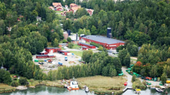 Reningsverket i Margretelund. Foto: Roslagsvatten