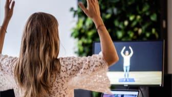 En digital utmaning för pausträning tacklar stillasittandet vid hemmajobb