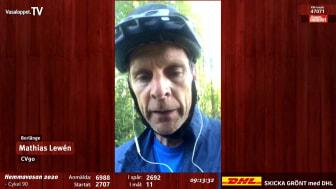 Hemmavasan Live klipp: deltagare med trasig cykel