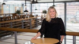 Ulrika Stålhammar, new Unit Manager at Sigma Technology Development. Photo: Anna-Karin Hulth